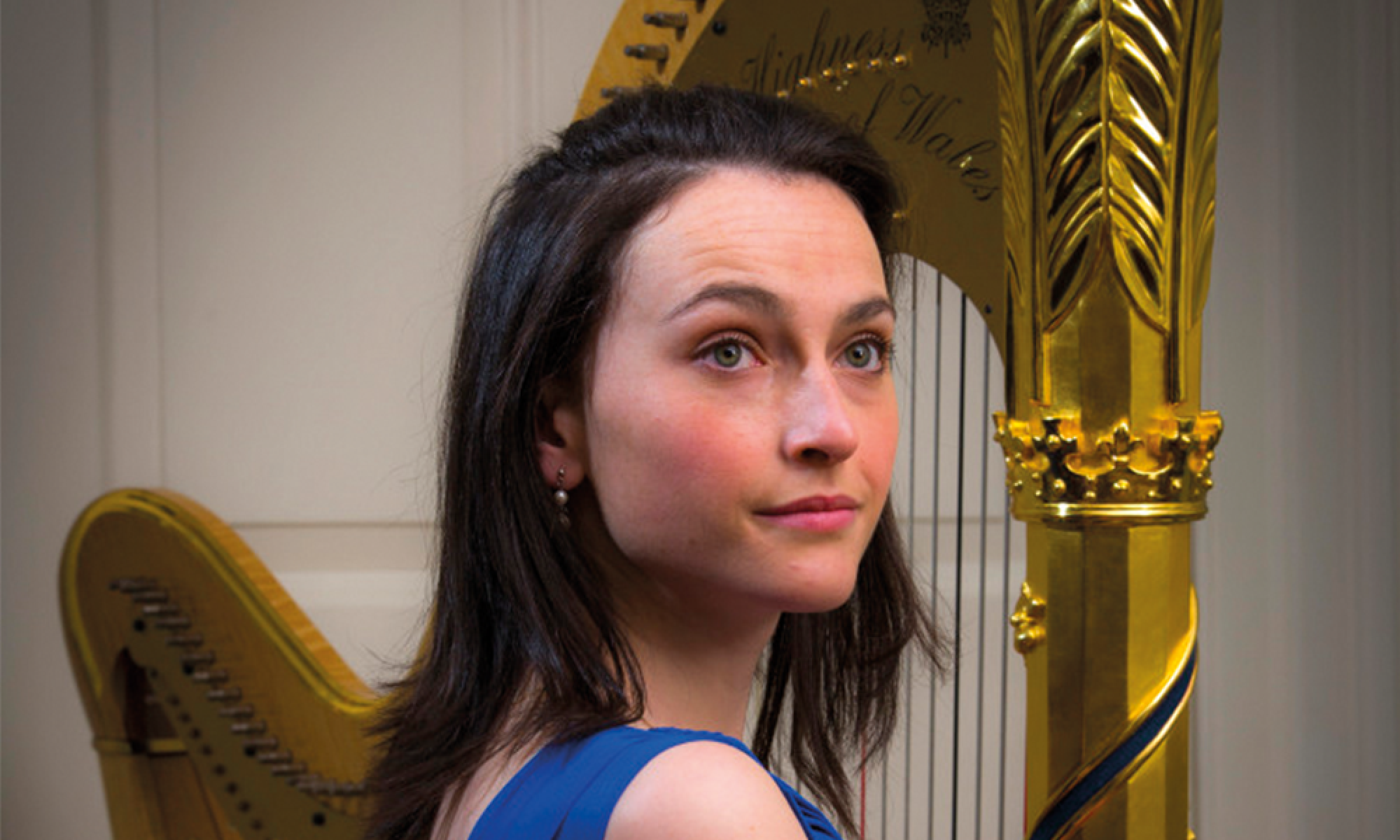 Anne Denholm Official Harpist for HRH Prince of Wales