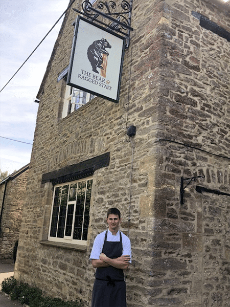 Head Chef of the restaurant at The Bear & Ragged Staff
